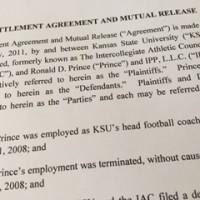 KSU settlement agreement